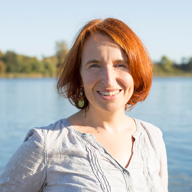 Die Abbildung zeigt ein Porträt von Dr. Christina Kohla