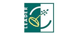 Auf diesem Bild ist das Logo von Leader dargestellt.