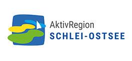 Auf dieser Abbildung ist das Logo der AktivRegion Schlei-Ostsee zu sehen.